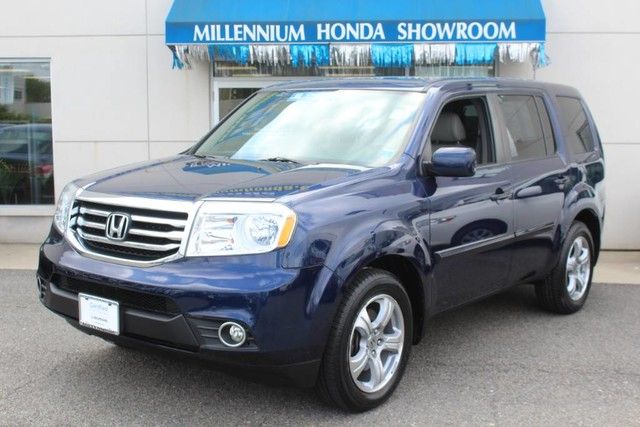 certified pre owned 2013 honda pilot 4wd 4dr ex l w navi suv in hempstead u22535p millennium. Black Bedroom Furniture Sets. Home Design Ideas