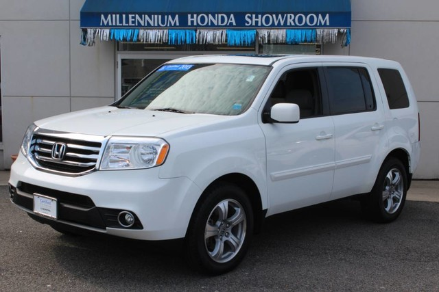 certified pre owned 2013 honda pilot 4wd 4dr ex l suv in hempstead u22304i millennium honda. Black Bedroom Furniture Sets. Home Design Ideas