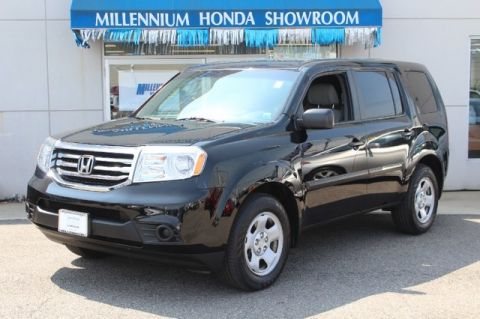 certified pre owned 2013 honda pilot 4wd 4dr lx suv in hempstead u21865t millennium honda. Black Bedroom Furniture Sets. Home Design Ideas