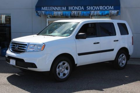 pre owned 2010 honda pilot 4wd 4dr ex l suv in hempstead u22615t millennium honda. Black Bedroom Furniture Sets. Home Design Ideas